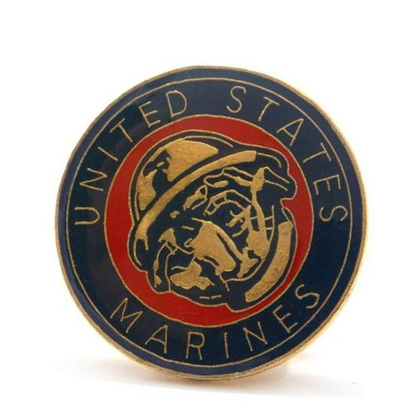 usmc marines corps devil dog insignia logo lapel hat pin military ppm032 1 pin walmart com walmart com usmc marines corps devil dog insignia logo lapel hat pin military ppm032 1 pin