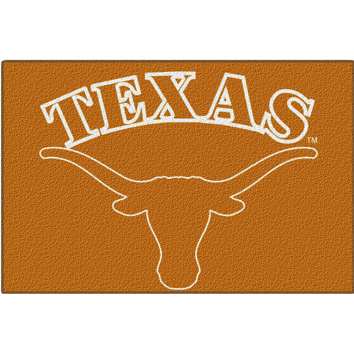NCAA Texas Longhorns Silhouette Small Tufted Rug
