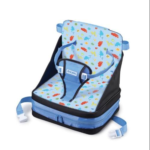 The First Years On-The-Go Booster Seat, Safari Multi-Colored