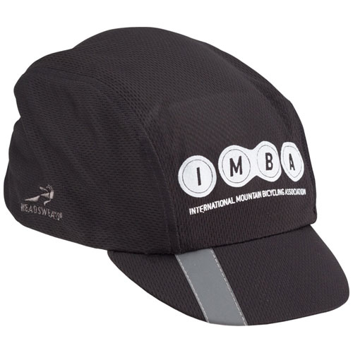 Headsweats IMBA Reflective Cycling Cap: Black