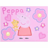 Peppa Pig LED Canvas Wall Art