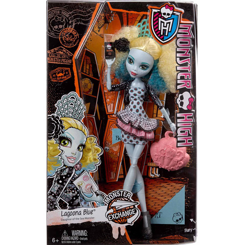Monster High Monster Exchange Lagoona Blue Doll by Barbie