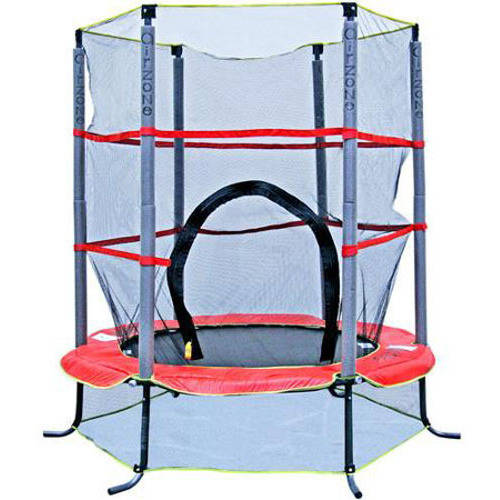 Airzone 55-Inch Trampoline, with Safety Enclosure, Red