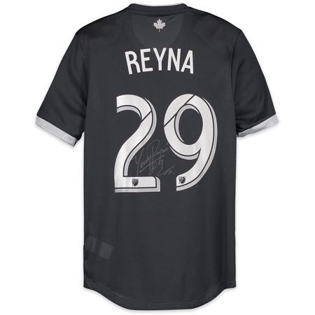 sports shoes 211ac d01e9 Yordy Reyna Vancouver Whitecaps FC Autographed Match-Used White #29 Jersey  from the 2018 MLS Season - Fanatics Authentic Certified