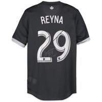 Yordy Reyna Vancouver Whitecaps FC Autographed Match-Used White #29 Jersey from the 2018 MLS Season - Fanatics Authentic Certified