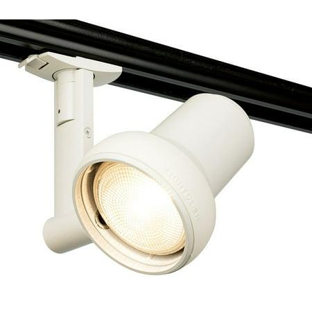 - Lightolier 8420WH Spot Track Light 50 Watt Matte White Lytespan Sof-Tech