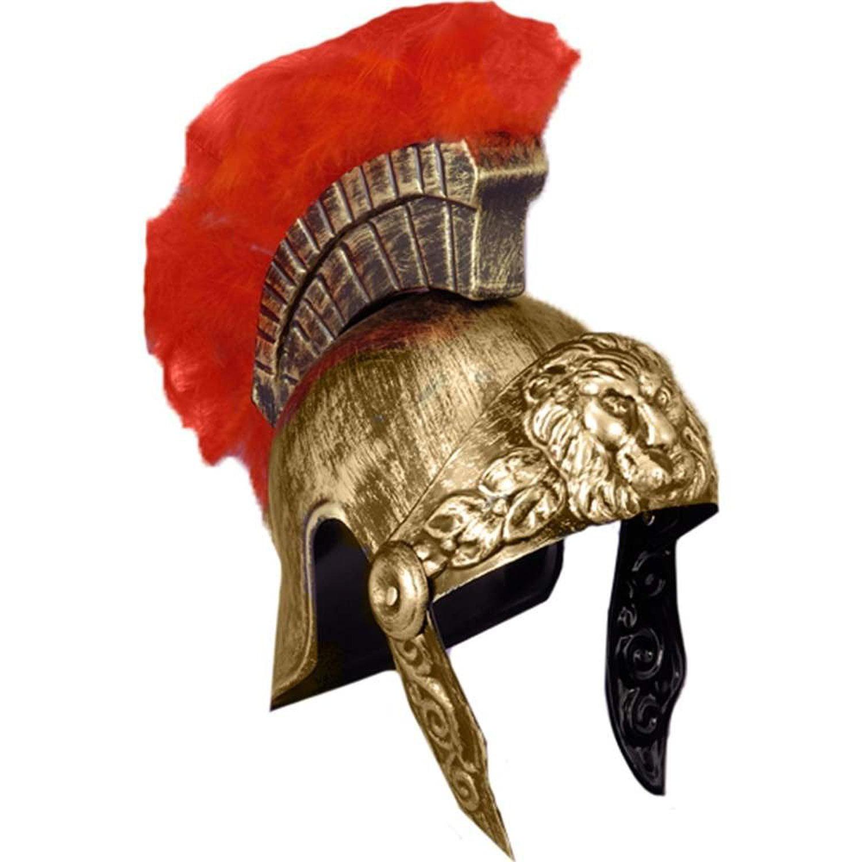 Roman Gladiator Helmet Spartan Warrior Trojan Greek Spartan Armor Costume  Hat - Walmart.com c97d5f6b7c48