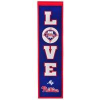 Philadelphia Phillies 8'' x 32'' Love Banner - No Size