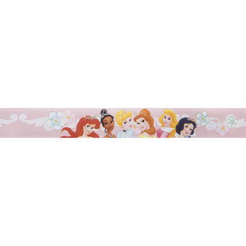 "Princess Tiana Satin Ribbon, Multi-Character, 1"" x 3 yd"
