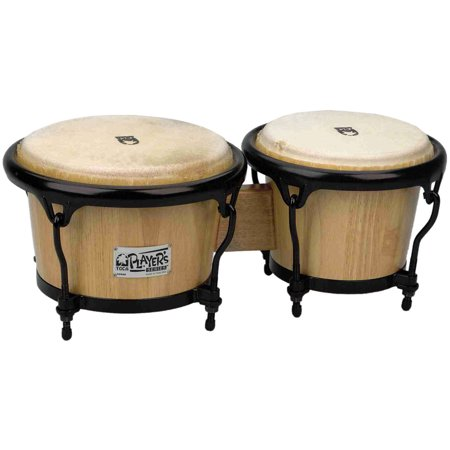 Toca Wood (Toca 2600N Player\'s Series Wood Bongos - Natural Finish )