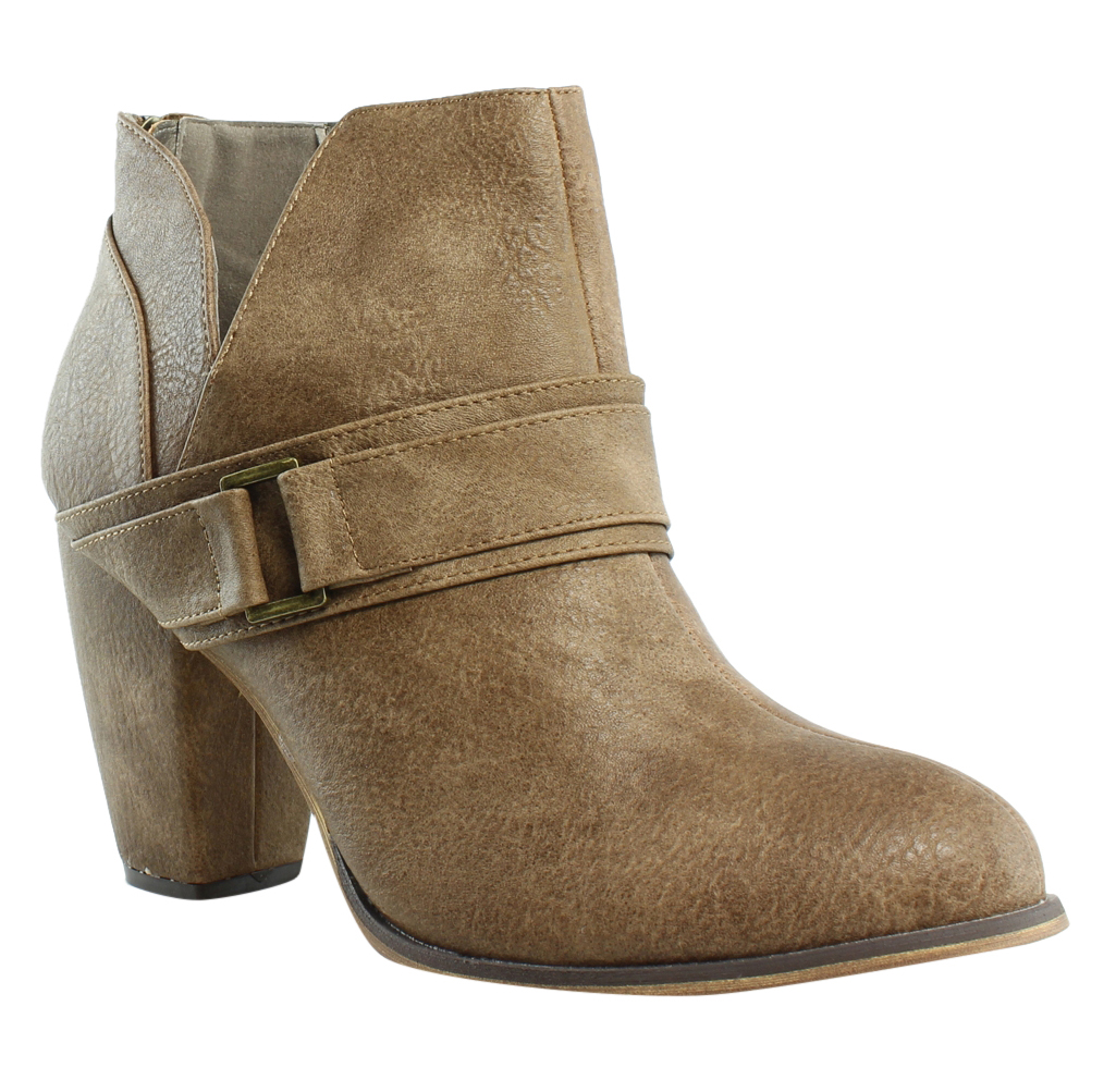 Michael Antonio Womens Mareo Wheat Fashion Boots Size 10