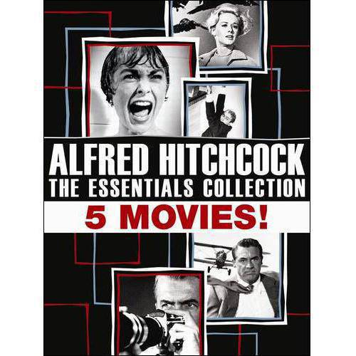 Alfred Hitchcock: The Essentials Collection - Rear Window / Vertigo / North By Northwest, Psycho / The Birds (Limited Edition) (LIMITED ESSENTIALS)