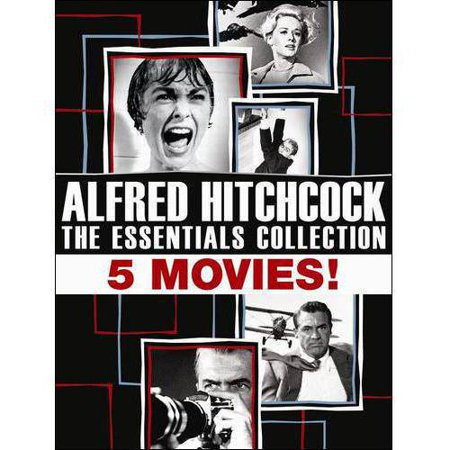 Alfred Hitchcock: The Essentials Collection - Rear Window / Vertigo / North By Northwest, Psycho / The Birds (Limited Edition) (LIMITED ESSENTIALS) Deal