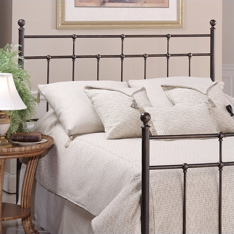 Hillsdale Providence Slat Headboard in Bronze-Twin