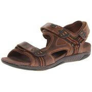 Propet Anderson - Sandals - Men's - Brown/Orange