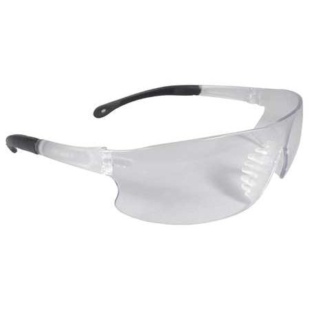 Radians Clear Safety Glasses, Scratch-Resistant, Wraparound, (Best Radians Eye Glasses)