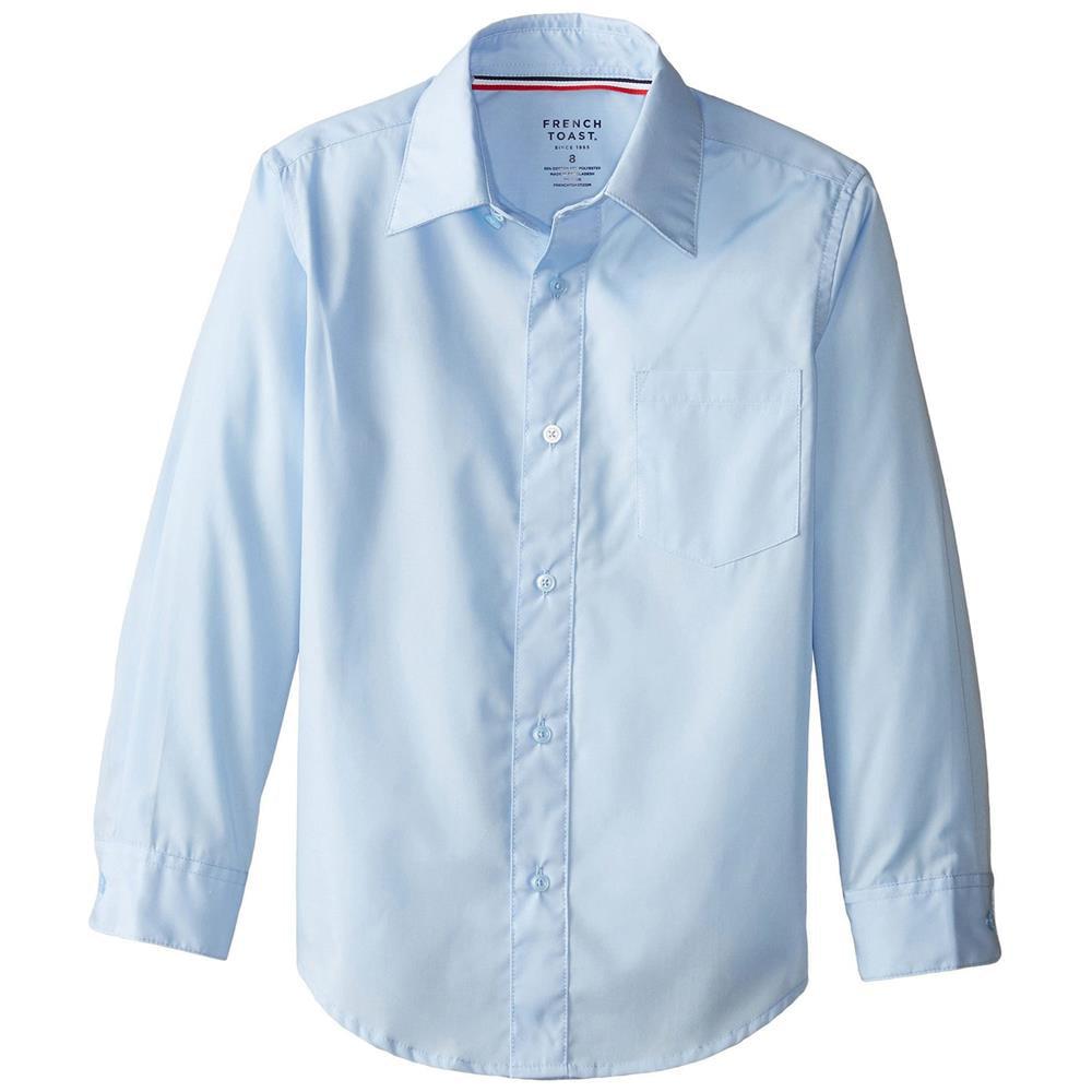 French Toast French Toast Boys 10 20 Husky Long Sleeve Dress Shirt
