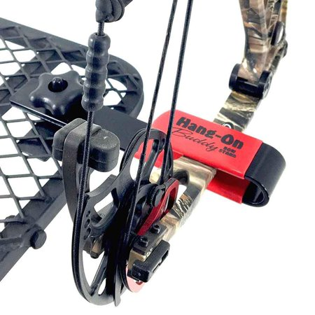 Bow Hanger Hang-On Buddy Compound bow Holder for Tree Stand Best Archery Bow H (Regular) thumbnail