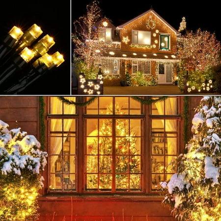 Solar String Lights 72ft 200 Led 8 Modes Solar Powered Christmas Lights Waterproof Decorative Fairy String Lights Indoor Outdoor Decorations Warm White Walmart Canada
