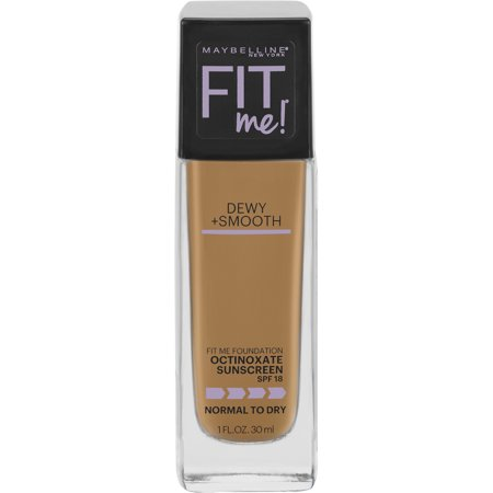 Maybelline Fit Me Dewy + Smooth Foundation SPF 18, Warm