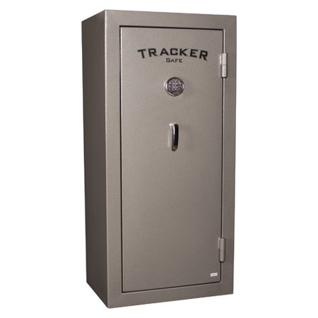 Tracker Safe TS22-ESR-GRY 22-Gun Fire Resistant Electronic Lock Gun Safe, Gray