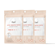 Rael Beauty Miracle Patch Invisible Spot Dot, 24 Acne Treatment Patches, 3 Pack