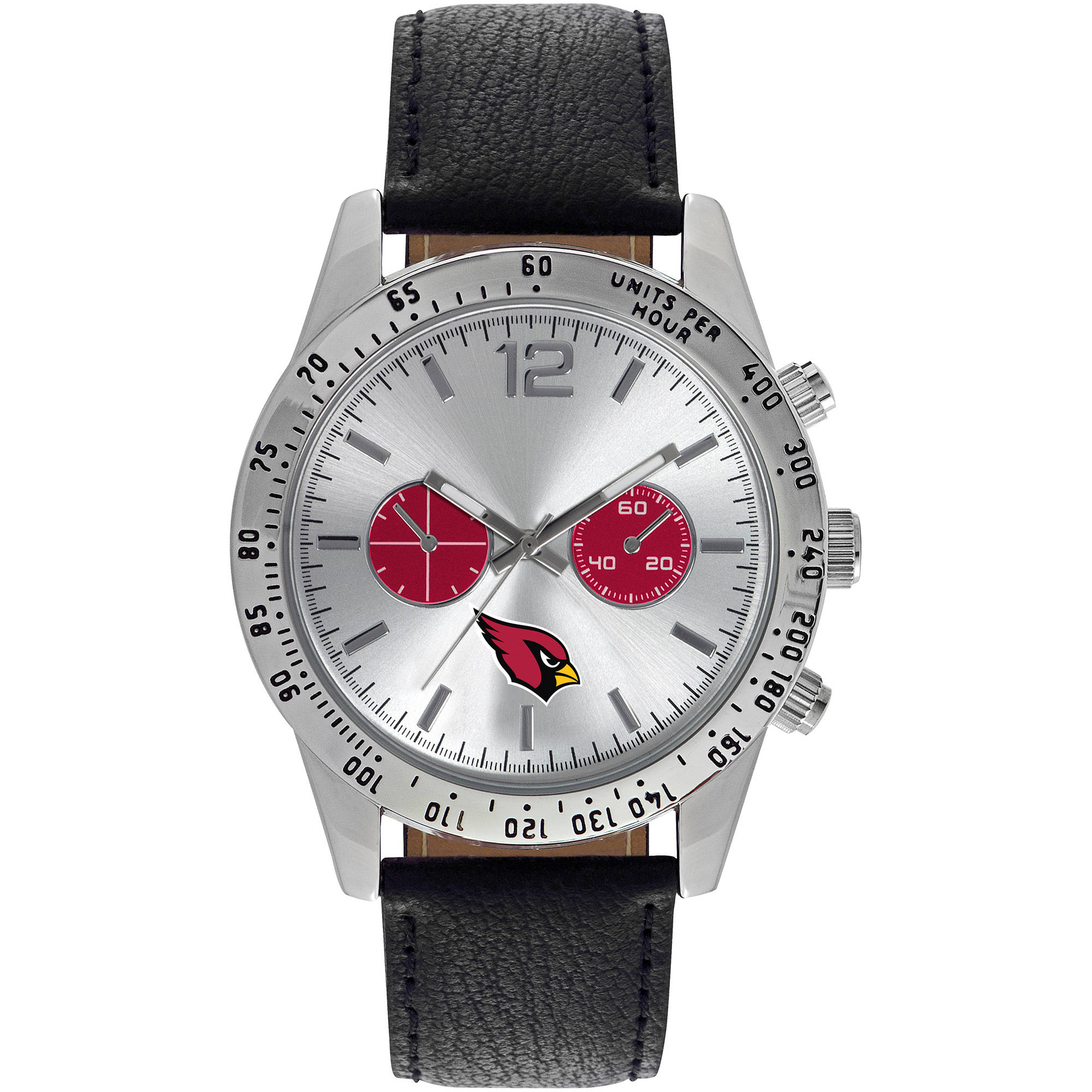 Game Time NFL Men's Arizona Cardinals Letterman Series Watch