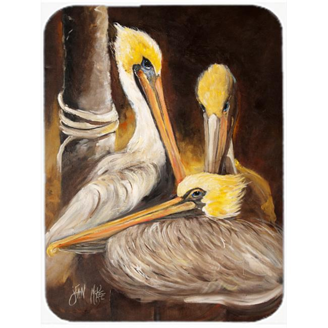 White Pelicans Mouse Pad, Hot Pad & Trivet