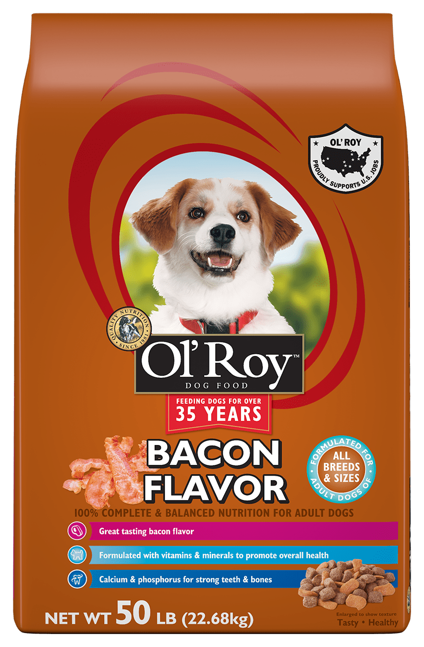 Ol' Roy Bacon Flavor Dry Dog Food, 50 lb by Wal-Mart Stores, Inc.