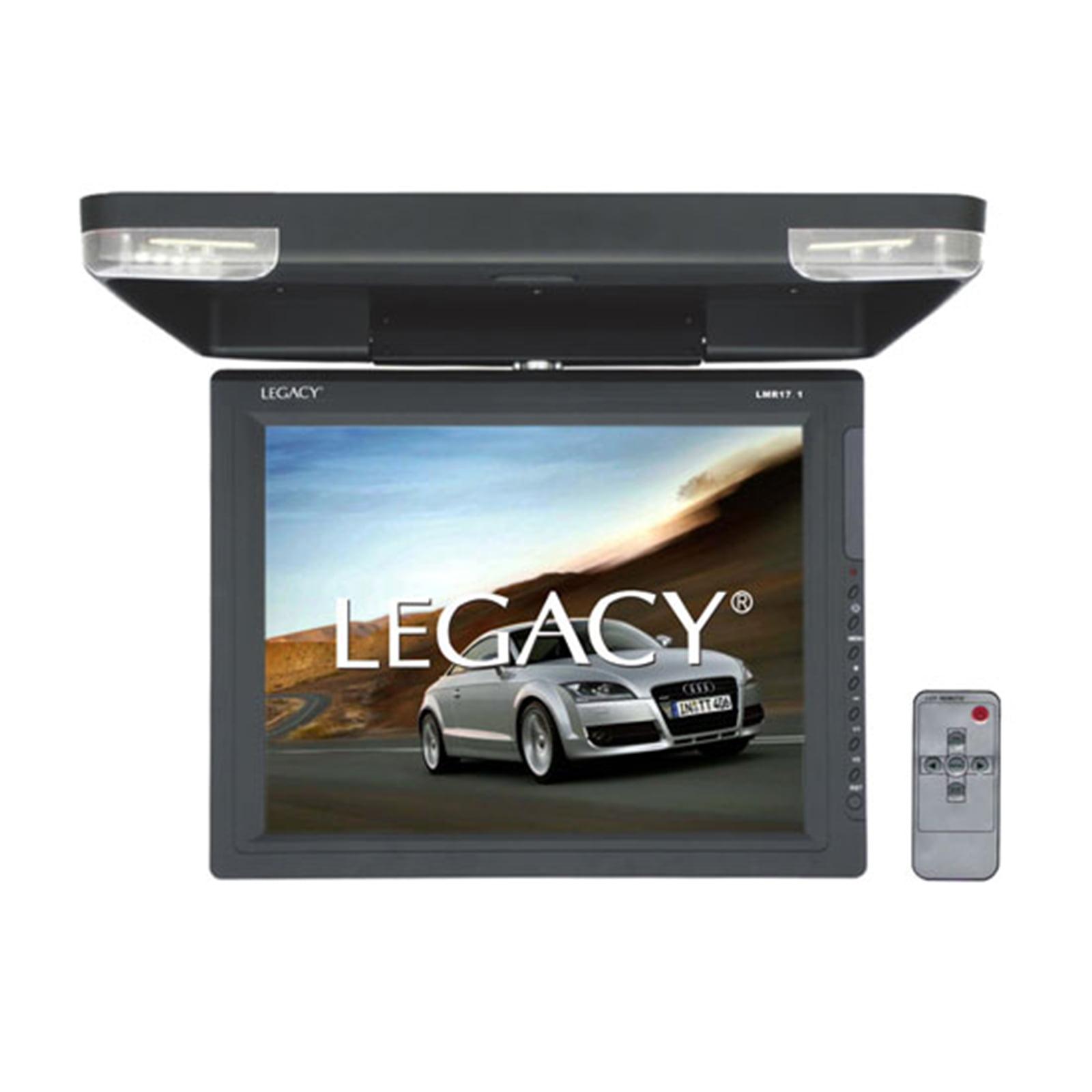 "15.1"" Hi-Res Flip Down Roof Mount LCD Monitor & IR Transmitter"