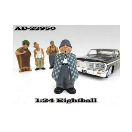 "Eightball ""Homies"" Figurine for 1/24 Scale Models by American Diorama"""
