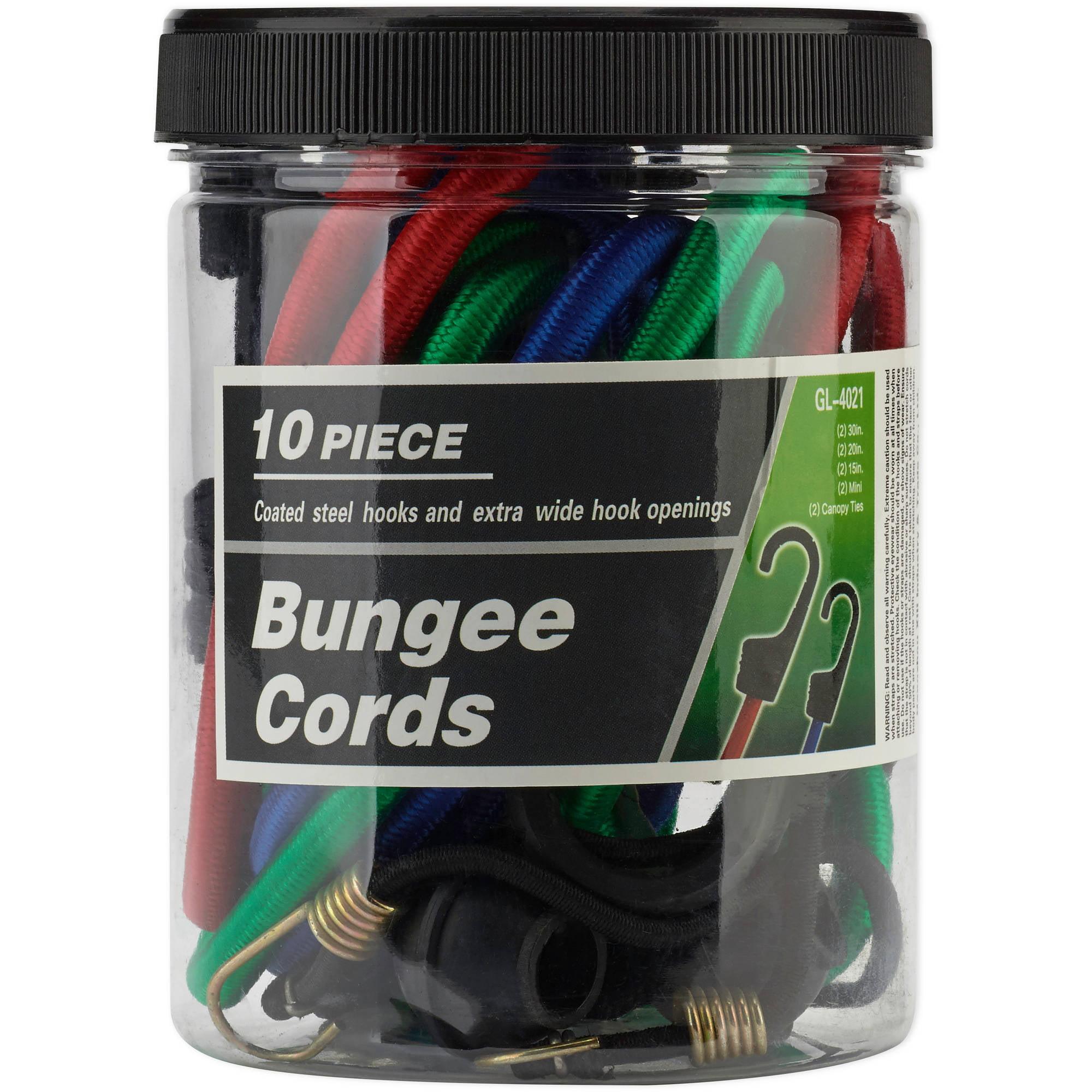 10-Piece Bungee Set