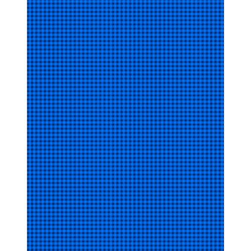 Heritage Gingham Fabric, Royal Blue
