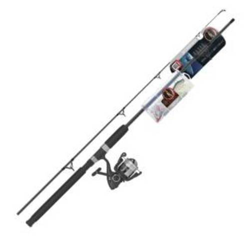 Ready 2 Fish Striper Spin Combo with Kit Multi-Colored