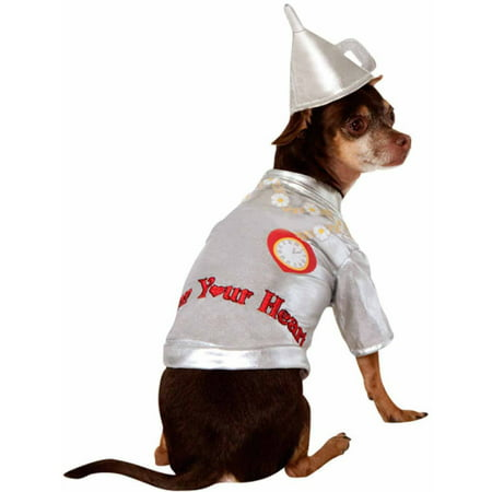 Male Dog Costumes (Wizard Of Oz Tin Man Pet Halloween)