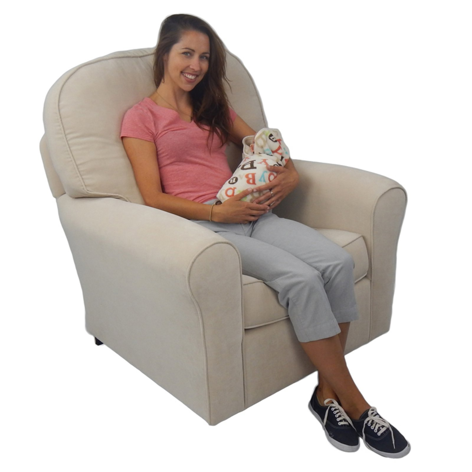 Life Style Furnishings Comfy Cozy Glider
