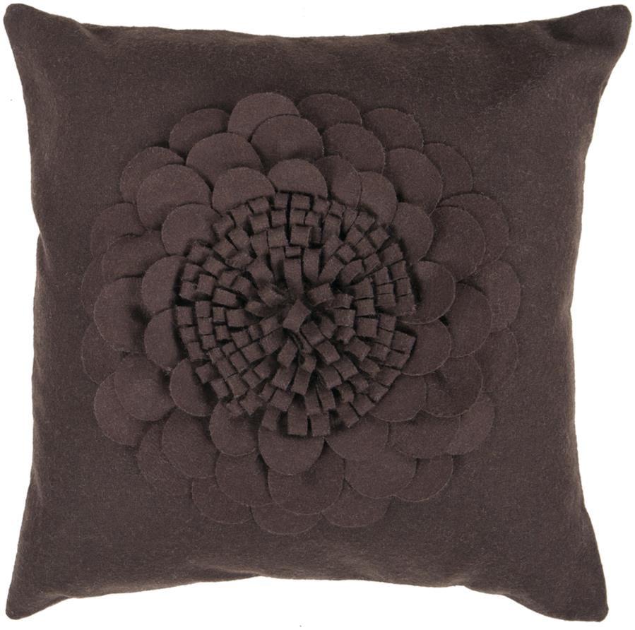 Surya Decorative FA079-1818 Pillow - (Down Filling/22 Inch x 22 Inch )