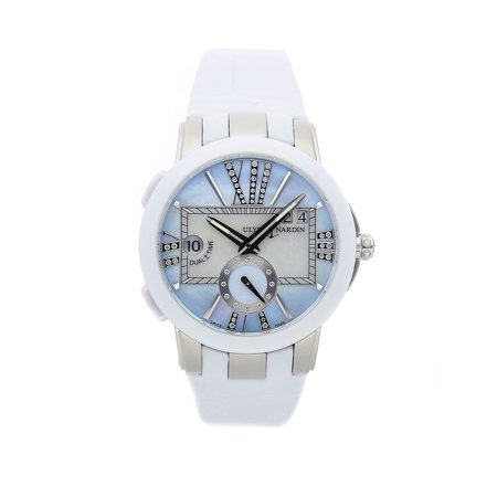 Mountaineers Ladies Executive Watch (Pre-Owned Ulysse Nardin Executive Dual Time Lady 243-10/393)