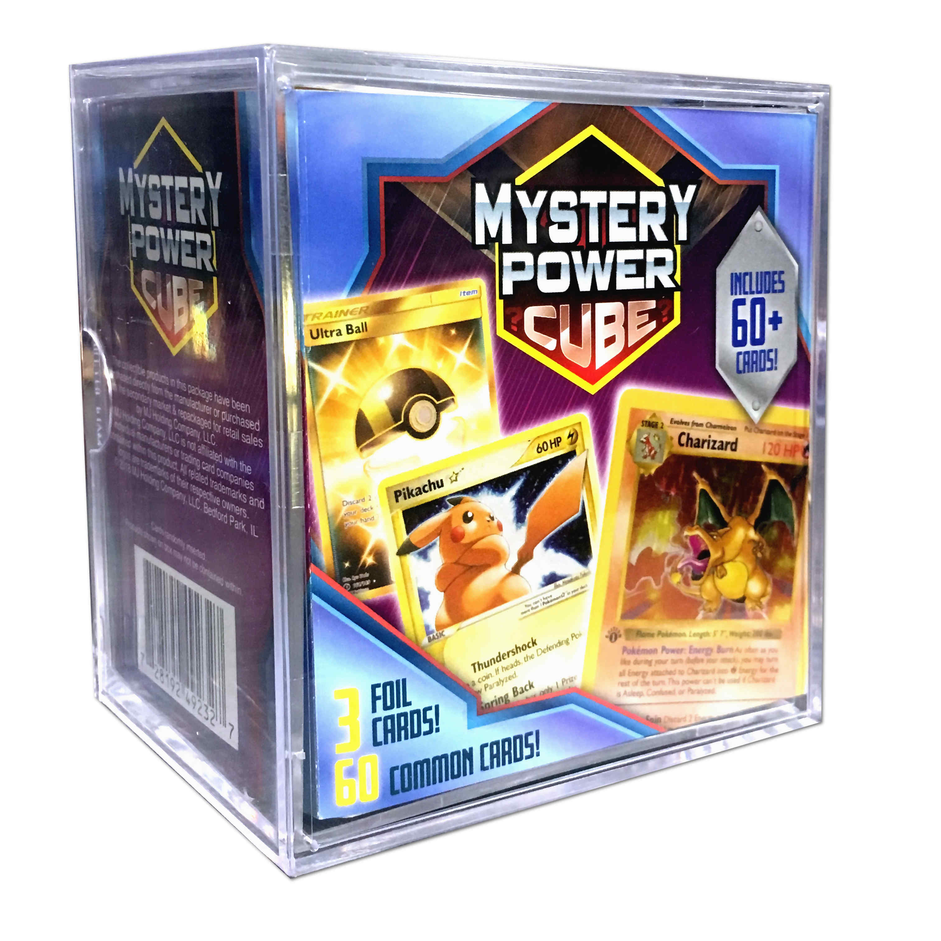 Pokemon Mystery Power Cube Trading Cards