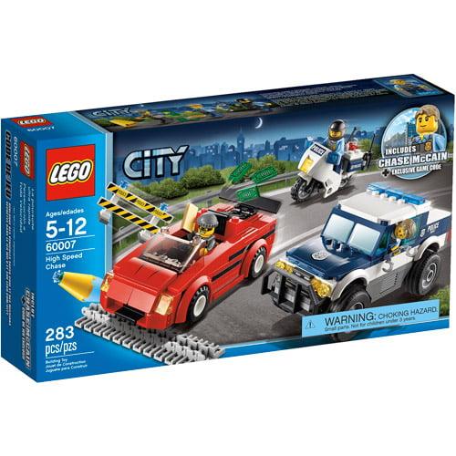 Lego City Police High Speed Chase Play Set Walmart Com Walmart Com