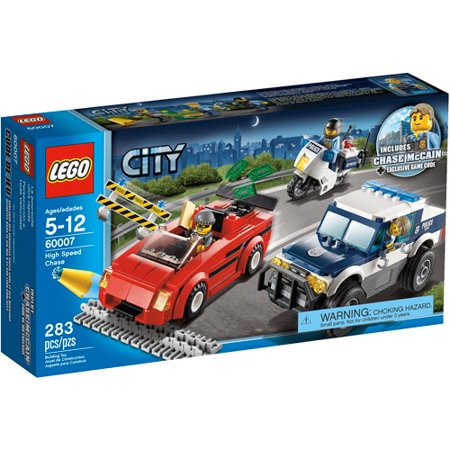 Lego City Police High Speed Chase Play Set Walmartcom