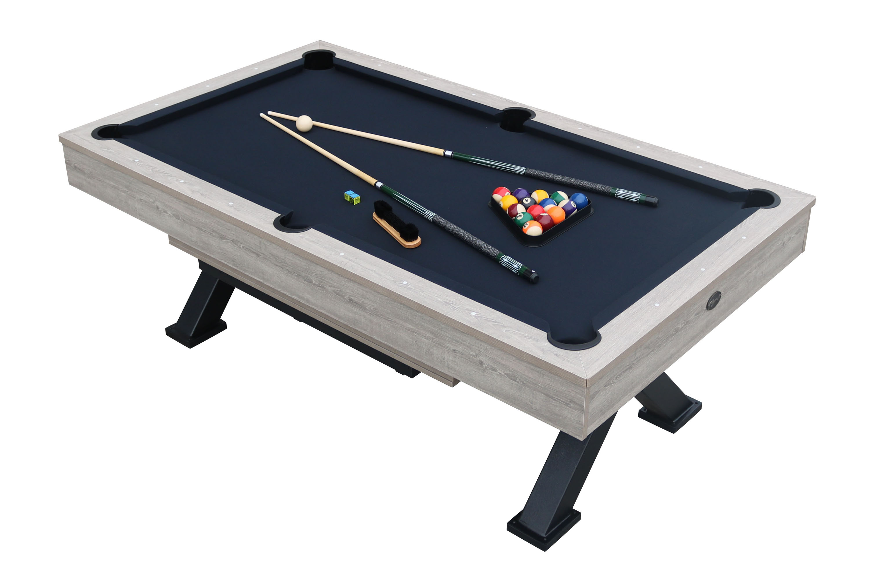 Playcraft Black Canyon 7' Pool Table with Dining Top - Walmart.com