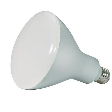 satcoproductsandlighting 17 watt 85 watt equivalent br40 led dimmable light bulb warm white. Black Bedroom Furniture Sets. Home Design Ideas
