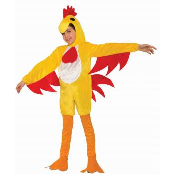 Kids clucky the chicken halloween costume M - Halloween Chicken Outfit