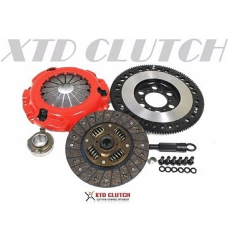 XTD STAGE 1 CLUTCH & 11LBS RACE FLYWHEEL KIT 86-91 MAZDA RX-7 TURBO II (Mazda 2 Turbo)