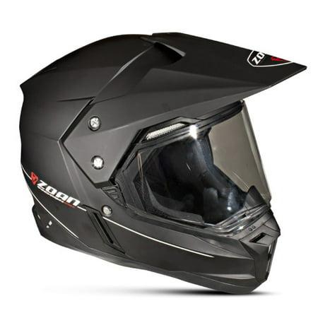 Zoan Synchrony Dual Sport Helmet   Matte Black   Sm