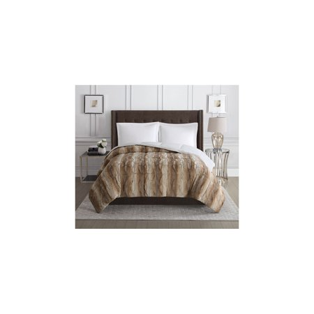 fur queen fullqueen comforters bz amp faux oz striped grey black bedding full cannon comforter