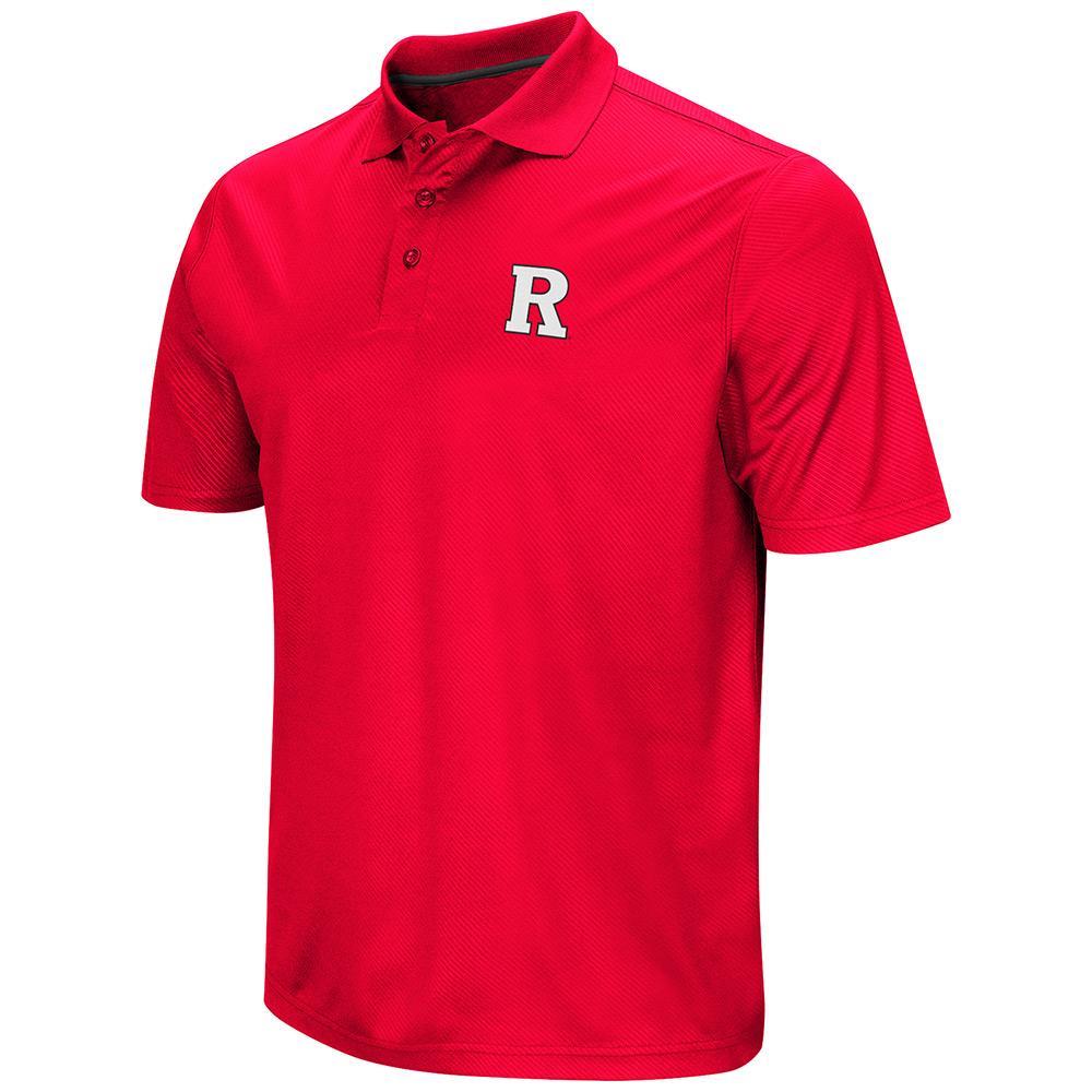 Mens NCAA Rutgers Scarlet Knights Polo Shirt (Team Color)