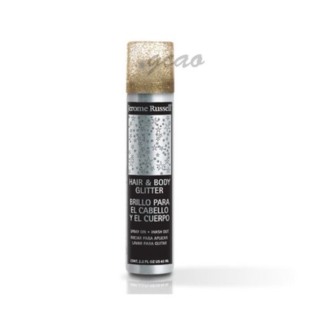 Jerome Russell Hair And Body Glitter Spray, Gold, 2.2 Oz](Hair Glitter Spray)