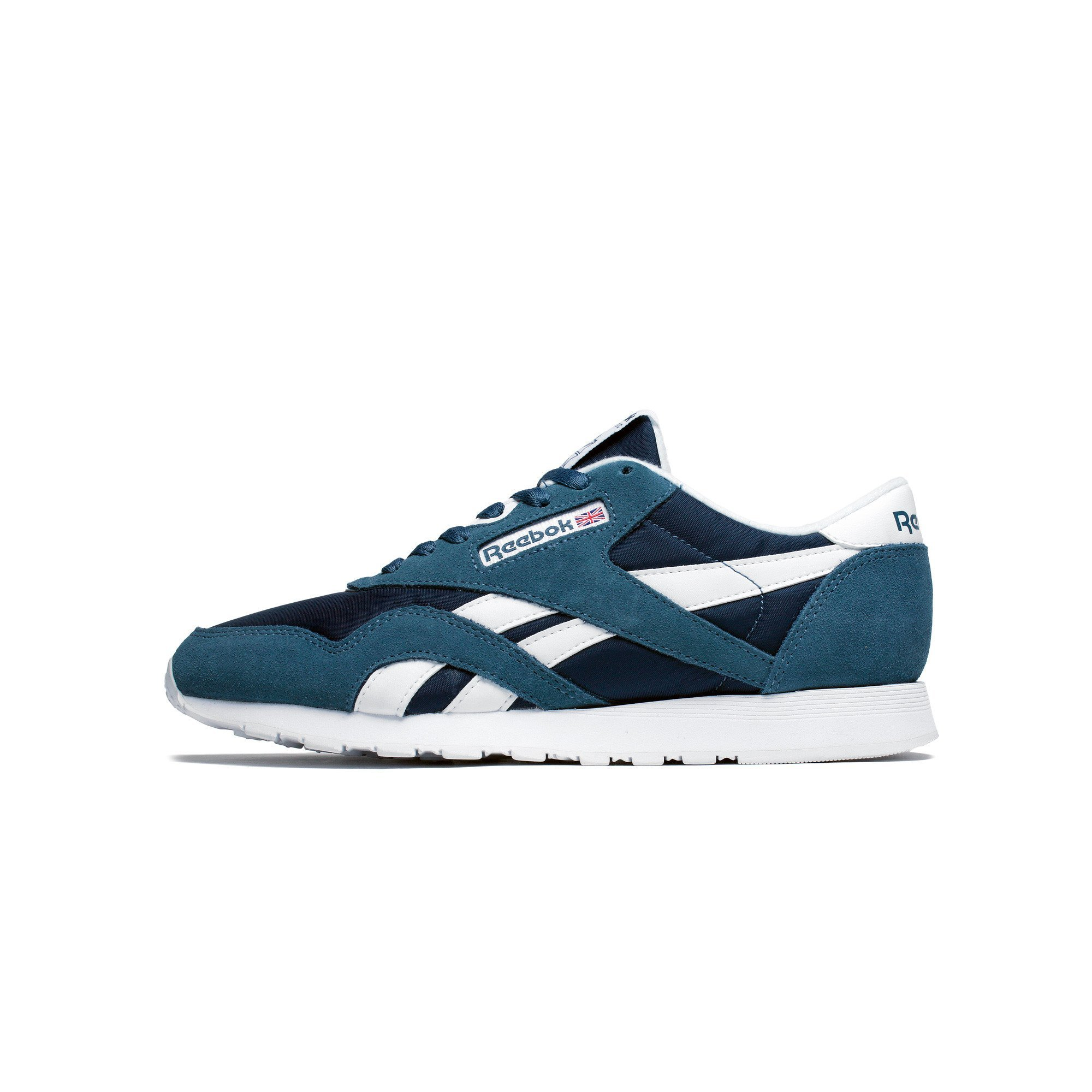 Mens Reebok Classic Nylon Brave Blue White BD4902 by